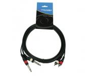 Accu Cable AC-2XM-2RM/3 Кабель сигнальный 3м фото 1