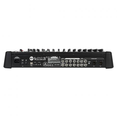 RCF L-PAD 16CX USB Аналоговый микшер фото 2