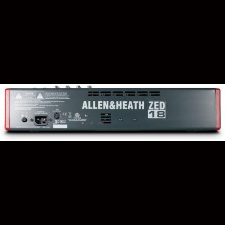 Allen&Heath ZED-18 Аналоговый мишкер фото 3