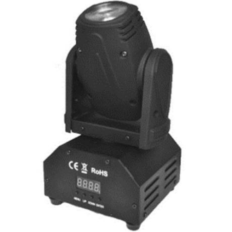 Pro Lux Светодиодная LED голова MINI BEAM 10 фото 1
