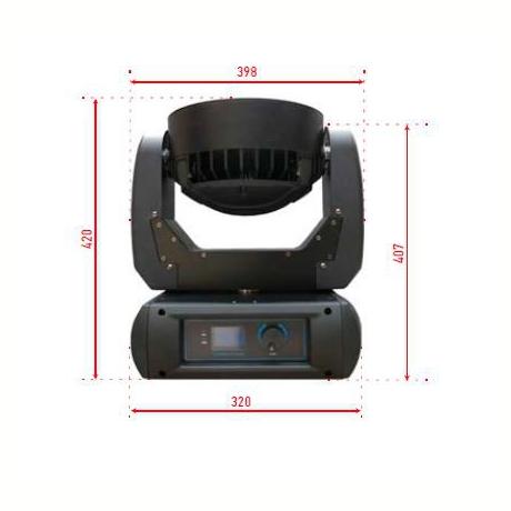 Pro Lux Светодиодная LED голова LUX LED 3712 фото 3