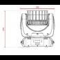 Pro Lux LUX LED 712 Светодиодная LED голова фото 3